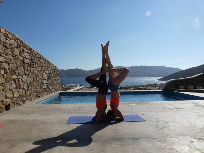 8 Days Luxurious Yoga Retreat in Greece