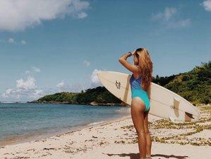 7 Tage Grenzenloses Surf Camp am Puraran Beach, Baras, Bicol
