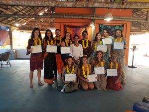 28 Day 200-Hour Yoga Teacher Training and 7 Free Rejuvenating Ayurvedic Massages in Kerala