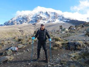 7 Days Machame Route Hiking Safari in Mount Kilimanjaro, Tanzania