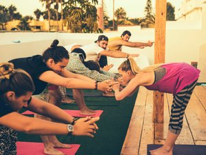 15 Days Intensive Surf Camp and Yoga Retreat in Spain