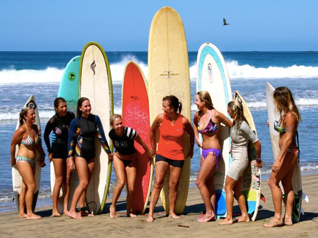 7 Days Women's Surf and Yoga Retreat Costa Rica