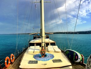 8 Days Sailing Adventure, SUP, and Yoga Holiday in Sardinia, Italy