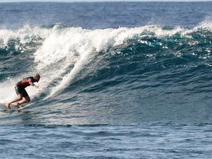 8 Day Surf Male' and Meemu Escape: Surf the Exciting Waves while Cruising for Advanced in Maldives