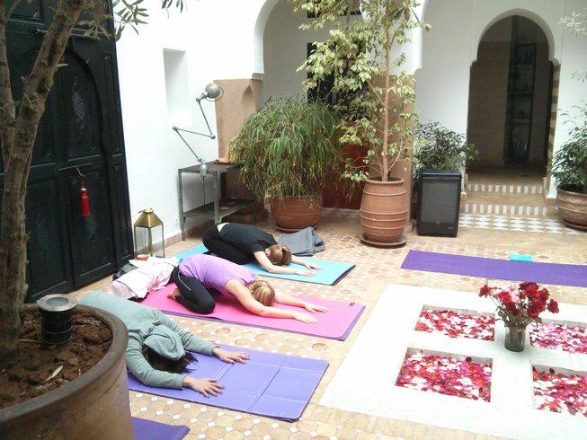 6 Tage Luxus Neujahrs Yoga Reise nach Marokko