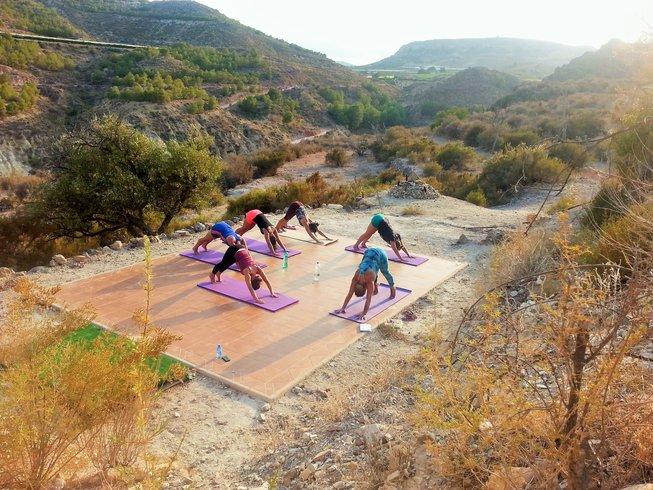 7 jours en stage de yoga Vinyasa à Murcie, Espagne