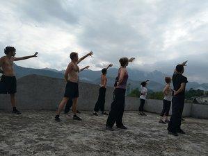 90 Days Shaolin Kung Fu, Wing Chun, Qigong, and Tai Chi Training in Guangxi, China