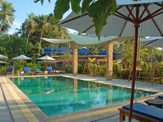 12 días de detox, meditación y retiro de yoga en Ko Phangan, Tailandia