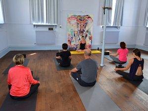3 jours en week-end de huit pratiques de yoga et cuisine indienne à Mortagne, Vosges