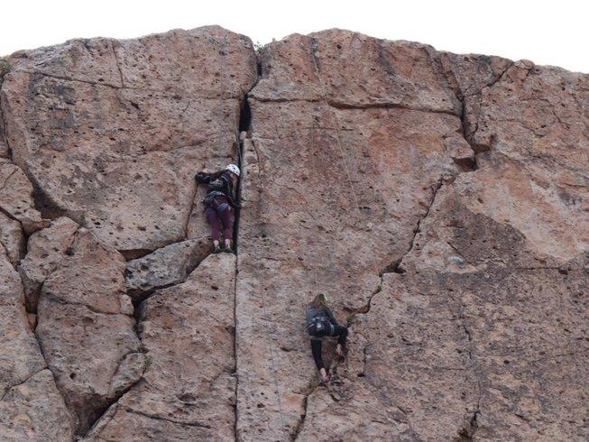 4 Tage Klettern und Yoga Urlaub in San Pedro de Atacama, Chile