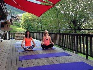 5 días de retiro de yoga y senderismo en Chatel, Haute-Savoie