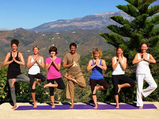 13 Days Vinyasa Yoga Retreat in Andalucia, Spain