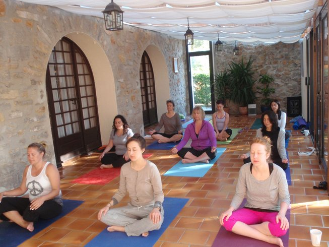 7 días retiro de yoga en la Provenza, Francia