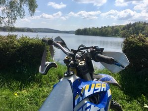 4 Day Fully Guided Enduro Motorcycle Tour in Morvan Natural Park, France