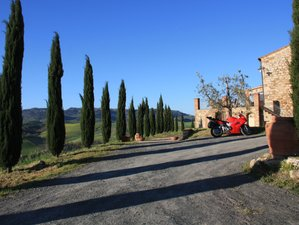 8 Day Guided Motorcycle Tour of Tuscany, Italy