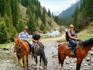 10 Days Camping and Horseback Riding Holiday in Kyrgyzstan