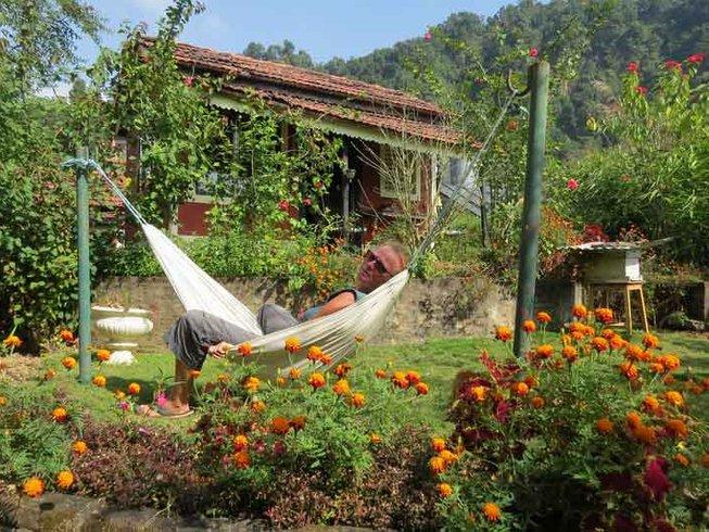6 jours en stage de yoga dans le jardin d'Éden à Pokhara, Népal