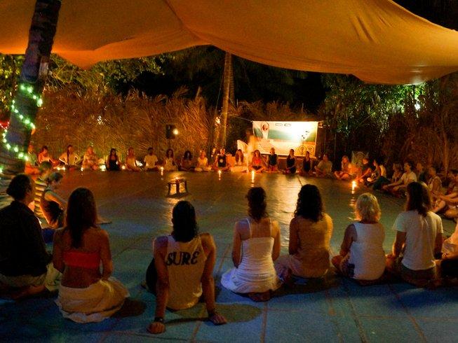 12-Daagse 100-urige Meditatie Yoga Docententraining in Rishikesh, India