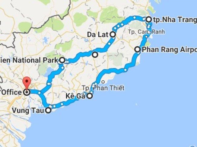 8 Days Off-Road Vietnam Motorbike Tour