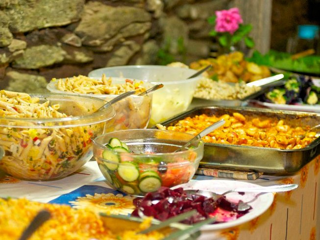 8 Days Vegetarian Cooking Holidays in Greece