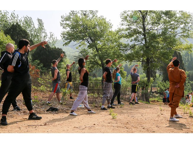 6 Months Mastering Kung Fu and Tai Chi in China