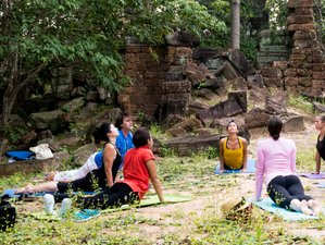 7 Days Meditation and Yoga Retreat in Siem Reap, Cambodia
