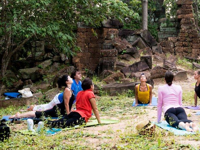 7 días de meditación y retiro de yoga en Siem Reap, Camboya