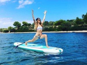 4 Tage Erfrischender SUP Yoga Retreat Cornwall, Großbritannien