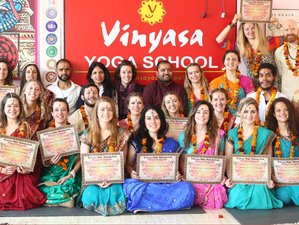 31 Day 200-Hour Vinyasa Yoga School Yoga Teachers Training Course in Rishikesh