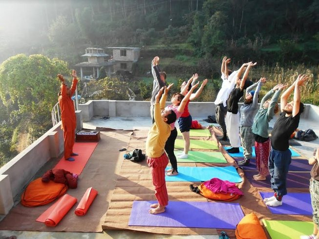 5 días retiro de estilo de vida yóguico en Nepal