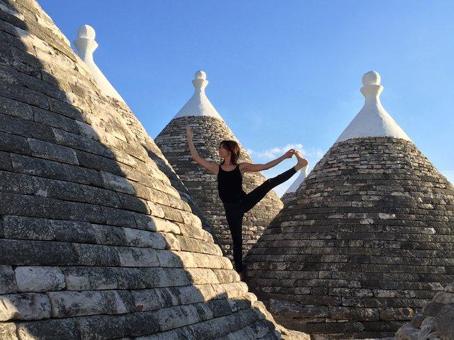 7 días retiro de yoga en Apulia, Italia