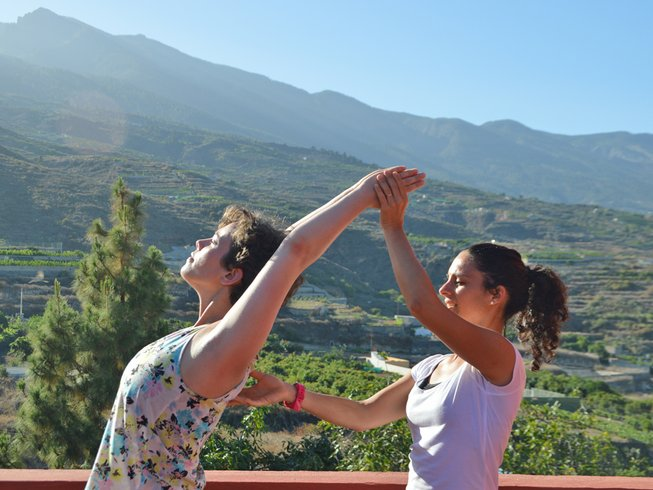 """7 jours en stage de yoga """"vert"""" à Tenerife, Espagne"""