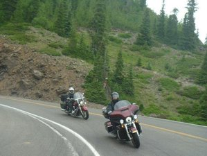 8 Day Loop Fully-Guided Motorcycle Tour of the Mountain Giants in Colorado