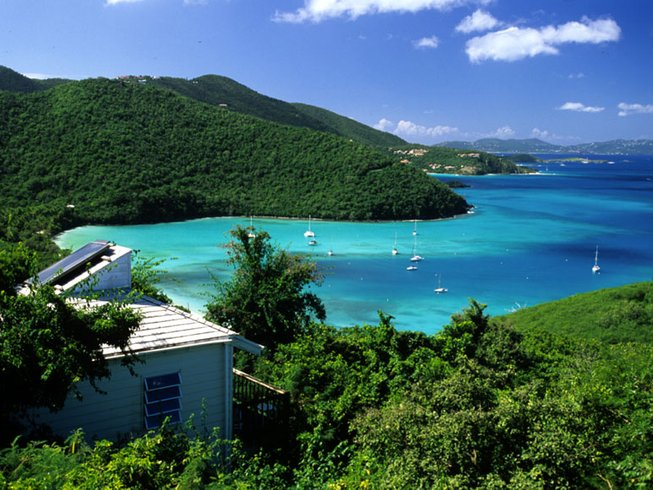 8 Days Yoga Vacation at Maho Bay in US Virgin Islands