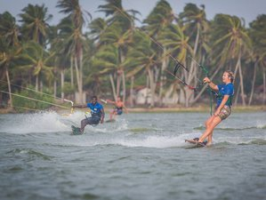 3 Day Level 1 Kitesurfing Camp in Kandakuliya, Puttalam District