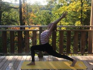 7 jours en stage de yoga en Mauricie, Québec