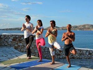 8 Days Relaxing Yoga Retreat at Paros Island, Greece