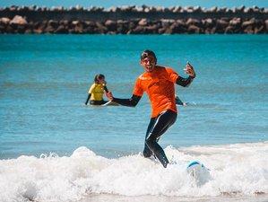 8 Days Surf Camp in Praia da Areia Branca, Lisbon Area, Portugal