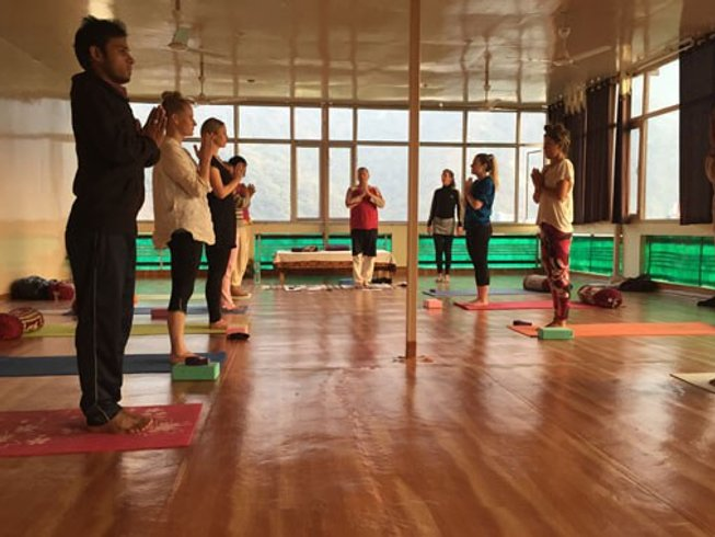 28 Days 200hr Yoga Teacher Training in Rishikesh, India