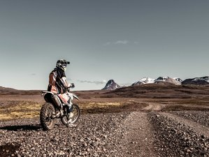 7 Day Exclusive Enduro Adventure in Iceland on a Guided Motorcycle Tour