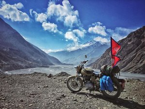 28 Day Grand Tour of Nepal Guided Motorcycle Road Trip