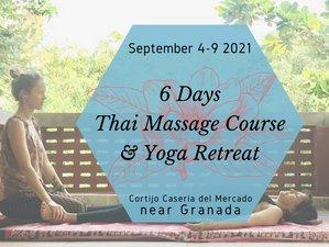 6 Day Introduction to Thai Massage and Yoga Retreat near Granada