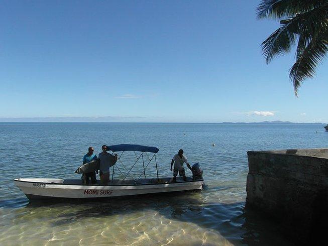 5 Days Challenging Fiji Surf Camp