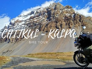 6 Day Guided Motorcycle Tour in India: Discover Chitkul and Kalpa