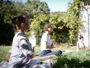 3 jours en retraite silencieuse de yoga et méditation à Épaux-Bézu, près de Paris