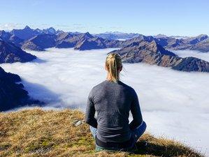 11 Tage Vertiefen Ihrer Praxis und Echte Freiheit Erleben im Yoga Retreat am Berghang in Immenstadt, Allgäu,