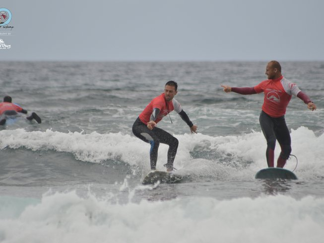 8 Days Surf Camp in Arona, Spain