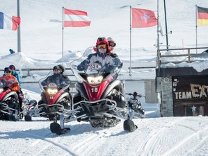 2 Days Classic Guided Snowmobile Tour in Italy and Switzerland