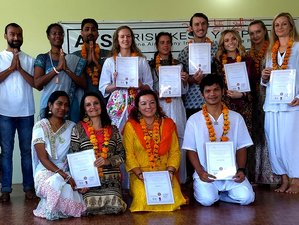 29 Day 300-Hour Certified Yoga Teacher Training in Rishikesh