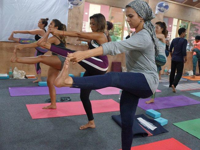 27 Days 200-Hour Scholarship Yoga Teacher Training in Rishikesh, India